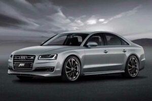 Audi A8 grijze kleur